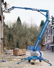 Anhänger-Arbeitsbühne 17,20 m / 17m mieten leihen