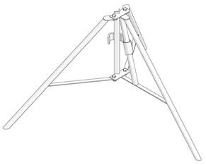 Dreibein mieten leihen