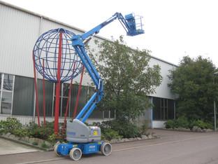 Gelenk-Teleskop-Arbeitsbühne mieten leihen
