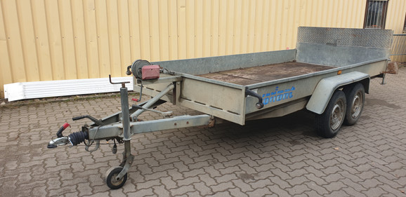Maschinen-Anhänger 2,7 to   Wipp-Anhänger_3 x 1,5 m mieten leihen